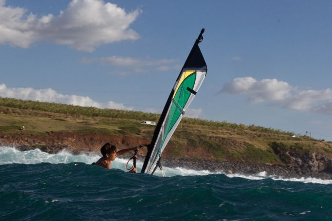 Harley Stone Windsurfing Hookipa