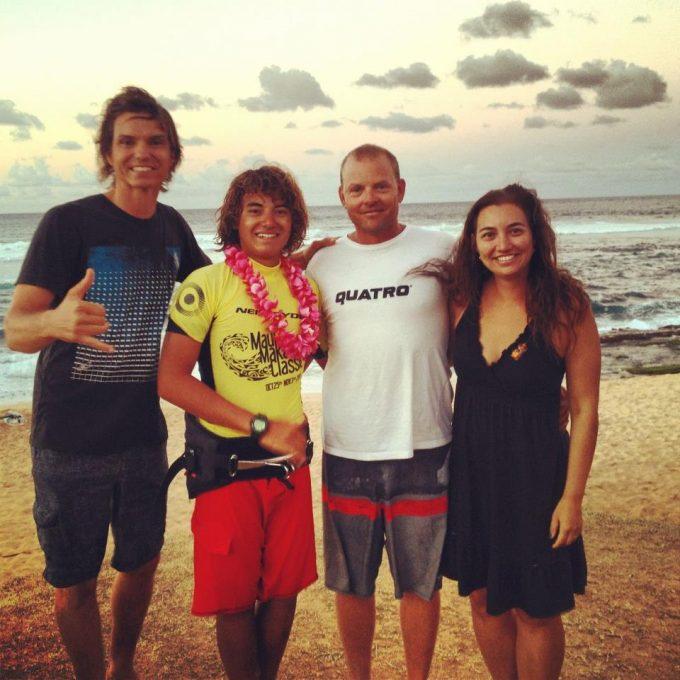 Bernd Roediger wins Maui Makani Classic
