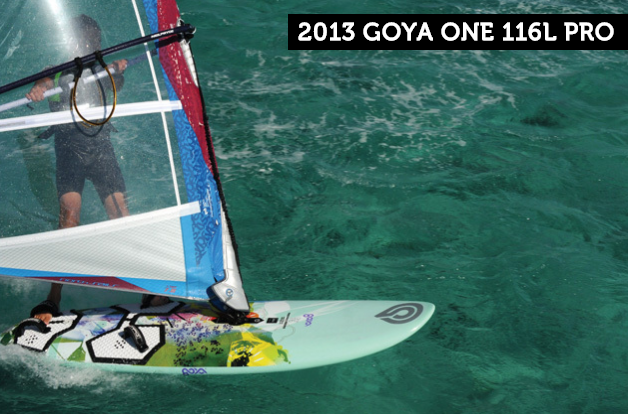 Goya one pro windsurfing test